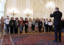 Přijetí slovenským prezidentem
